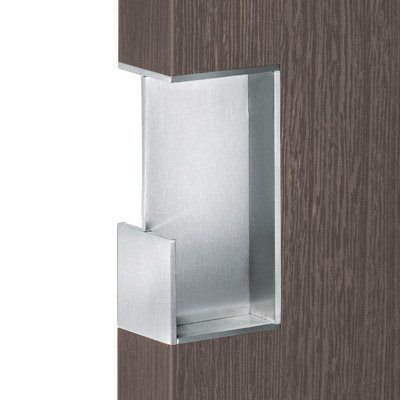 flush door pulls. fsb usa 4299 0023 6204 flush sliding pull pocket door hardware, stainless steel - knobs pulls l