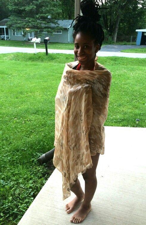 Rockin' the FIERCE scarf