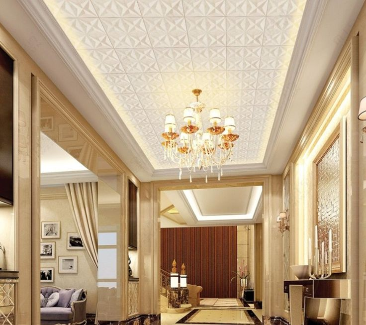 Modern Interior Decoration Living Rooms Ceiling Designs: Modern Bedroom Ceiling Design 2013