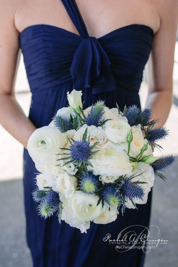 Chardons bleus pour boutonnières des hommes et pour les centres de table