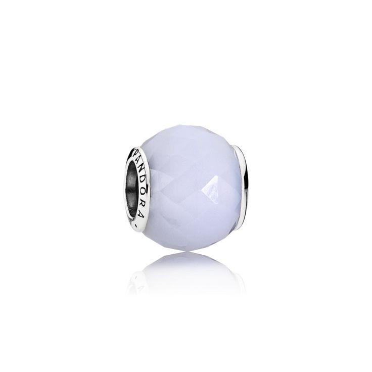 PANDORA | Opalizující broušený křišťál, sterlingové stříbro, opalizující bílý křišťál