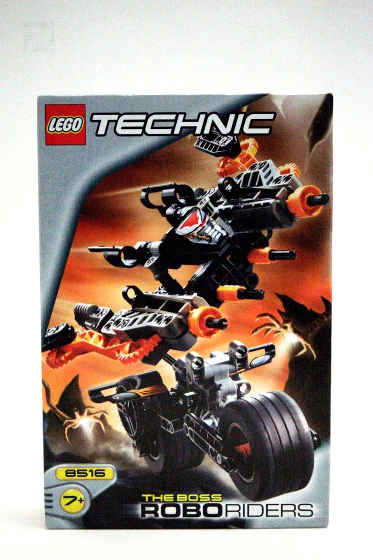 LEGO Technic Set 8516 BOSS ROBO RIDERS - cyan74.com vintage and pop culture | SOLD