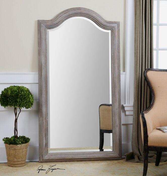 uttermost conklin arch leaner mirror x in the classically styled uttermost conklin arch leaner mirror u2013 x in is a charming accent piece perfectly - Uttermost Mirrors