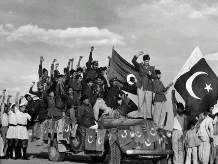 Classic picture of Independence of Pakistan in 1947