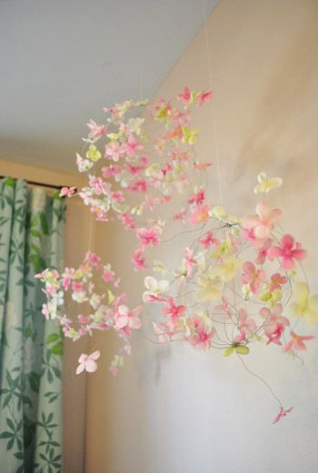25 Unique Flower Mobile Ideas On Pinterest Flower
