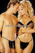Sexy Women and Men's Leopard Thong with beard Trim Best Buy follow this link http://shopingayo.space