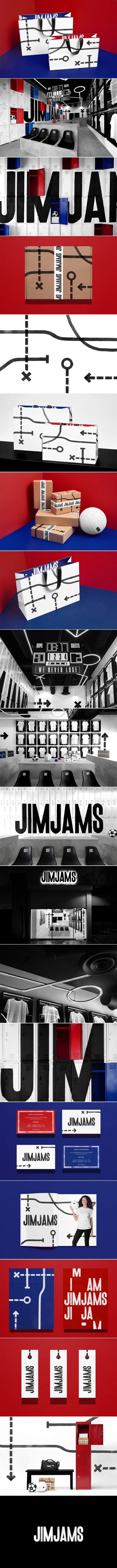 Get Your Head In The Game With This Playbook-Inspired Branding For JimJams — The Dieline | Packaging & Branding Design & Innovation News