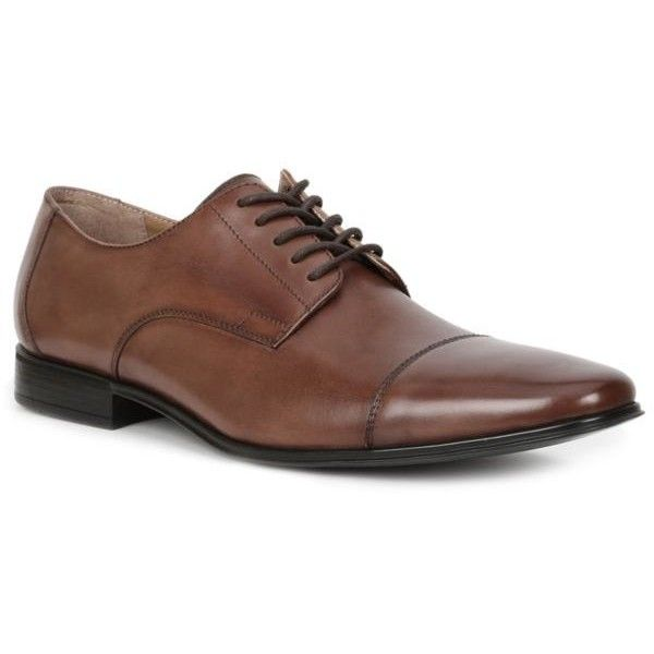 Giorgio Brutini  Sheppard Oxford Dress Shoe (110 NZD) ❤ liked on Polyvore featuring men's fashion, men's shoes, men's dress shoes, mens oxford shoes, mens dress loafers shoes, giorgio brutini mens dress shoes, mens oxford dress shoes and giorgio brutini men's shoes