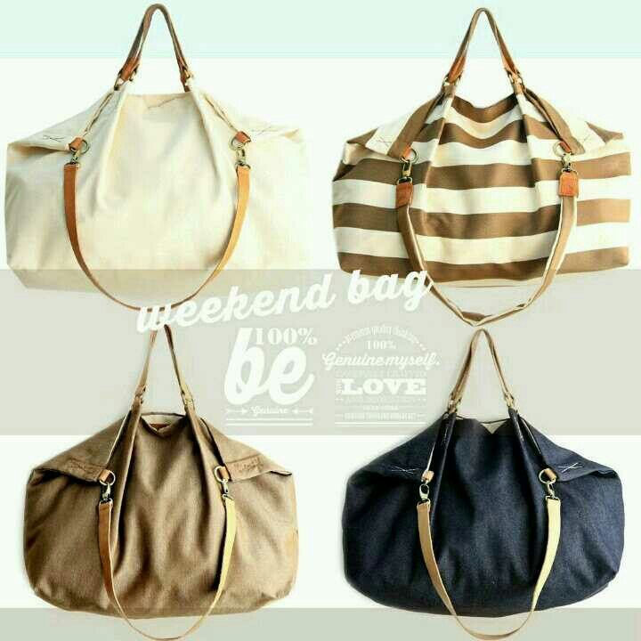It's Weekender time! Weekend bag the perfect size to take with you all you need for a great weekend! www.genuinemyself.com