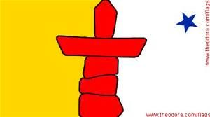 nunavut flag and meaning