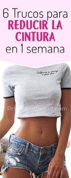 Trucos para lograr una cintura perfecta.