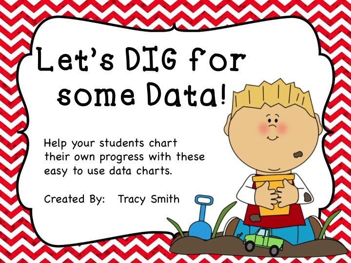 Easy to use Student Data Charts! Put them in charge of their learning! Grades 1-5