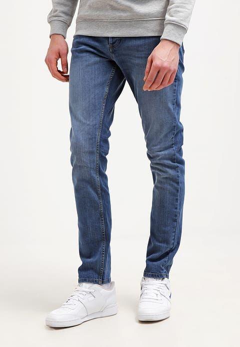 Burton Menswear London AMERICAN - Jeansy Slim fit - blue za 116,35 zł (29.12.16) zamów bezpłatnie na Zalando.pl.