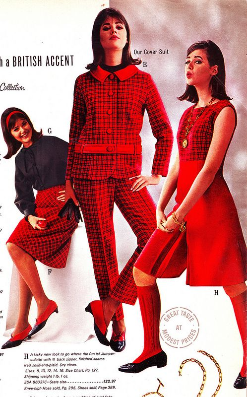 Collen Corby | Wards 65 fw red plaid | by jsbuttons