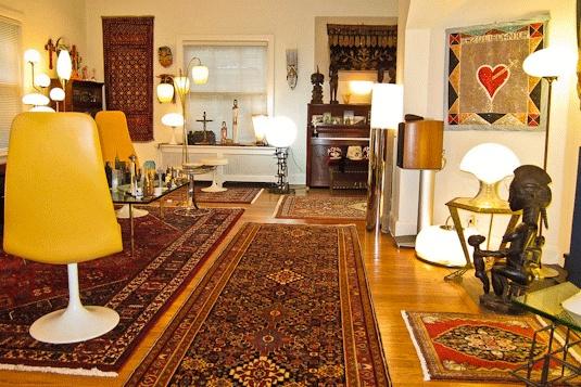 persian rugs antique oriental rug eclectic design. Black Bedroom Furniture Sets. Home Design Ideas
