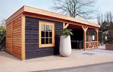 Tuinhuis - Blokhut - Tuinhuisje - Garden Shed - Shed - Huisje - Tuin - Fonteyn <3