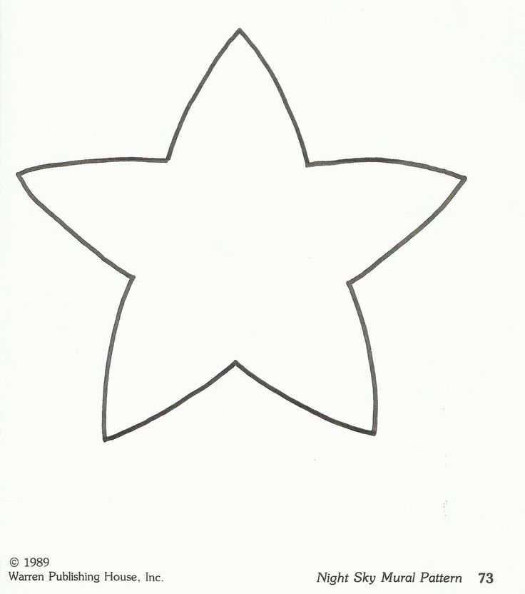 Best Ideas Images On   Star Template Christmas