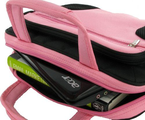 rooCASE Netbook / iPad Carrying Bag for Samsung NB30-JP02 10.1-Inch Netbook Texturized Matte Black - Deluxe Series Pink / Black rooCASE http://www.amazon.com/dp/B004PLVO14/ref=cm_sw_r_pi_dp_Uus-tb19HBH6Y