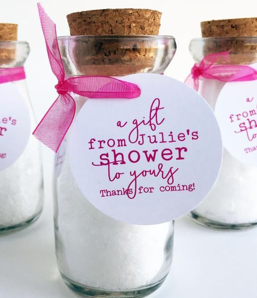 From My Shower to Yours thank you tags. Add these tags to your bridal shower gifts for guests or bridal shower gift bags. In addition to wedding shower favors