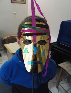 Colors of Life: Αφρικάνικες Μάσκες