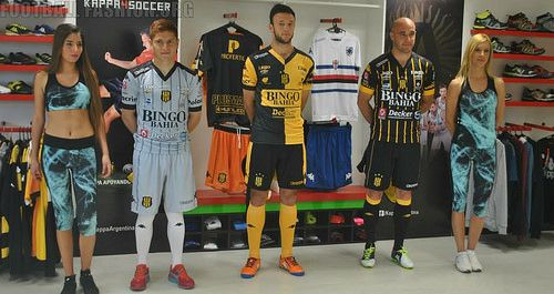 Club Olimpo 2014 2015 Kappa Home, Away and Third Football Kit, Soccer Jersey, Shirt, Camiseta