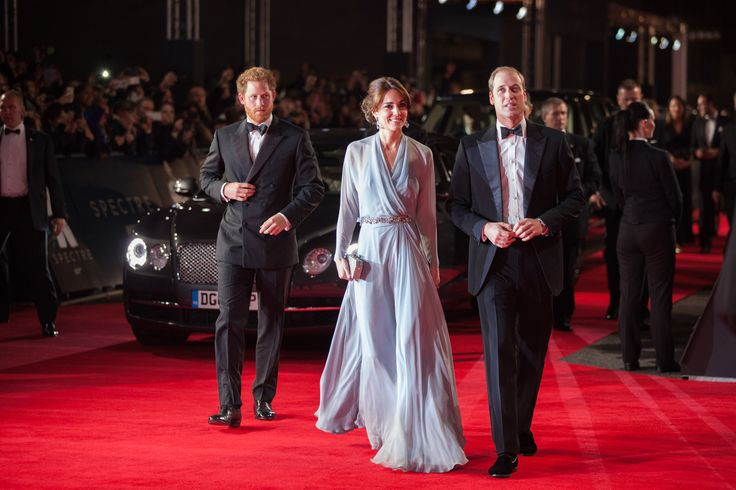 Kate Middleton, Daniel Craig, and More at the World Premiere of Spectre