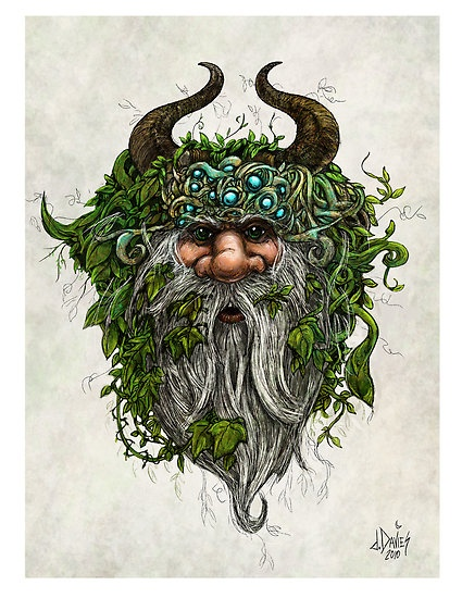 The Green Man beckons you to the wood.