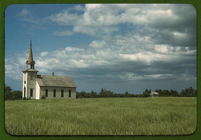 Church near Junction City, Kansas