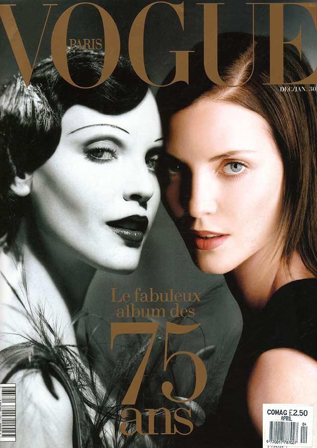 Nadja Auermann, Vogue Cover