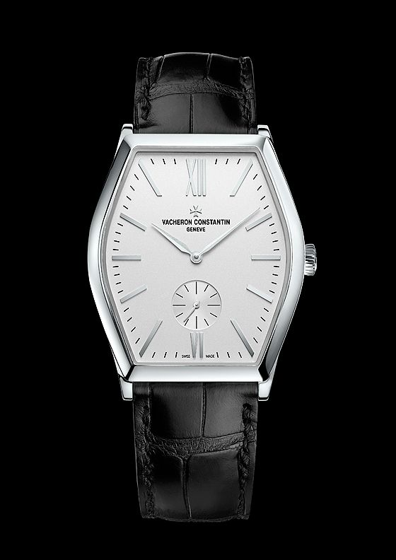 The new Vacheron Constantin Malte in white gold comes on a black Mississippi alligator strap secured by a white-gold buckle shaped like half of a Maltese cross, the venerable emblem of the Vacheron Constantin brand. The watch will be available in June, priced at $25,500.
