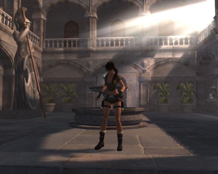Croft Manor - Tomb Raider 7 version