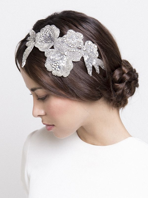 Ana García Cherubina bridal hairpiece for the Ani Bürech bridal line