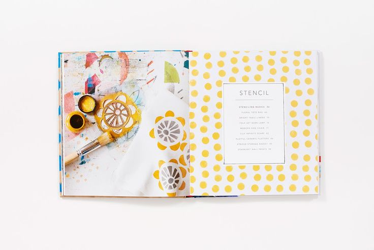 Amazon.com: Stamp Stencil Paint: Making Extraordinary Patterned Projects by Hand (0499995184121): Anna Joyce: Books