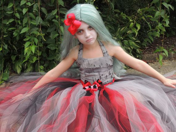 The Hair Bow Factory Zombie Halloween Tutu by thehairbowfactory