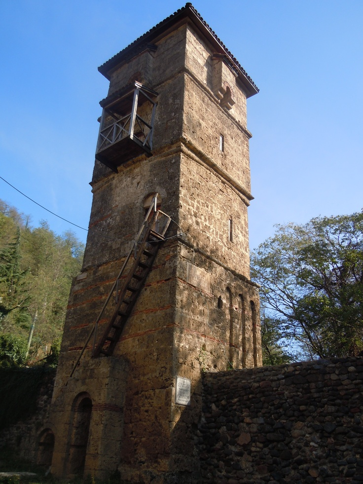 Tower at St. George's Church and Monastery complex in the village of Ubisa_1