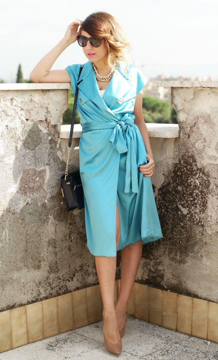 Trench autunno 2014: sfumature di seta by Anna Fashion Luxury