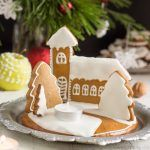 Gingerbread Christmas Candle Holder