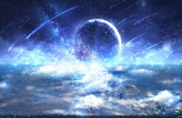 Art By Victo Ngai Scenery Wallpaper Space Art Anime Scenery Background anime wallpaper galaxy