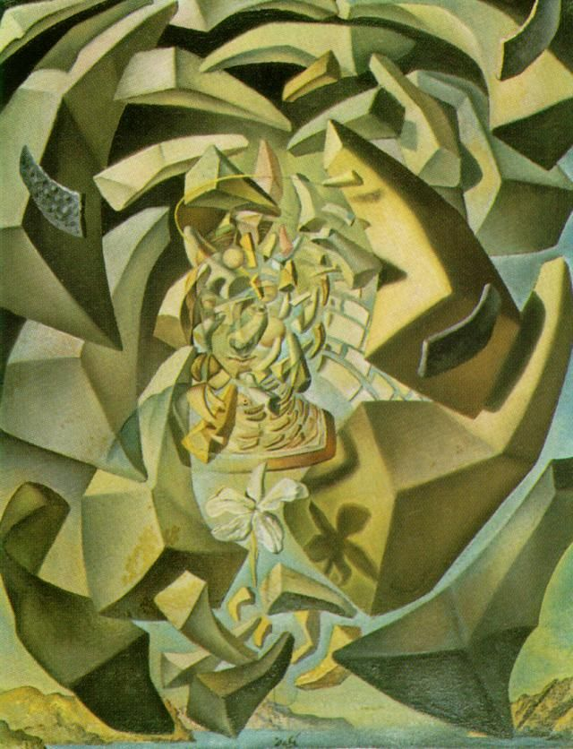 "Salvador Dali ""Microphysical Madonna"""