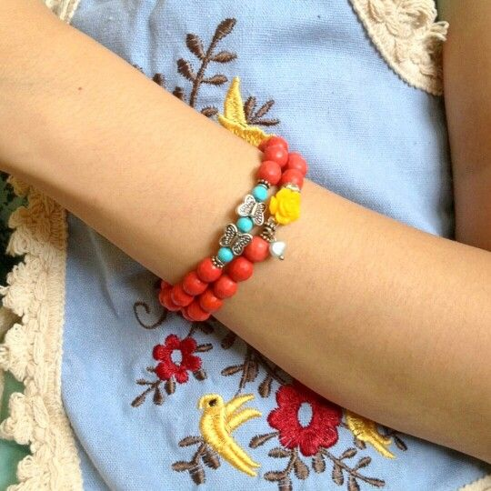 Gelang Handmade // Arm Candy // Beaded Bracelet #Stuffysyel