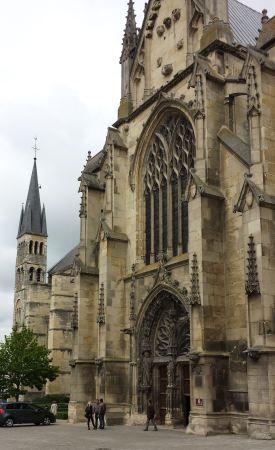 Reims, France - Basilique St. Remi