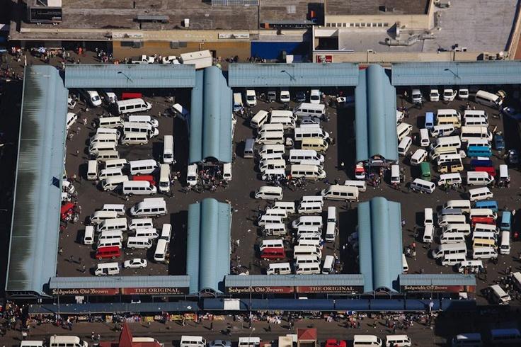 Johannesburg taxi rank