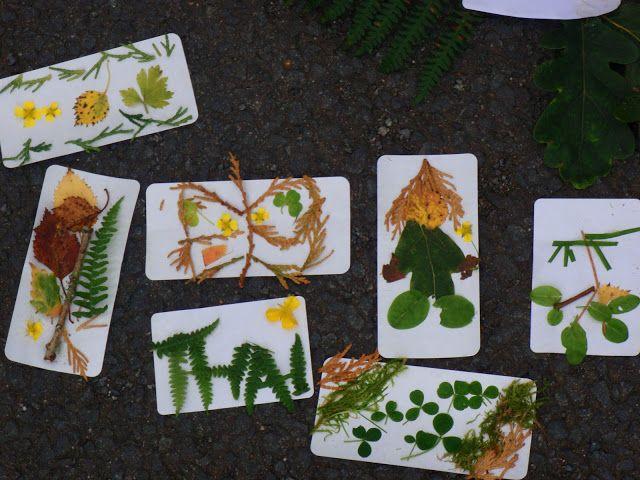 Nature Walk Art met kleeffolie