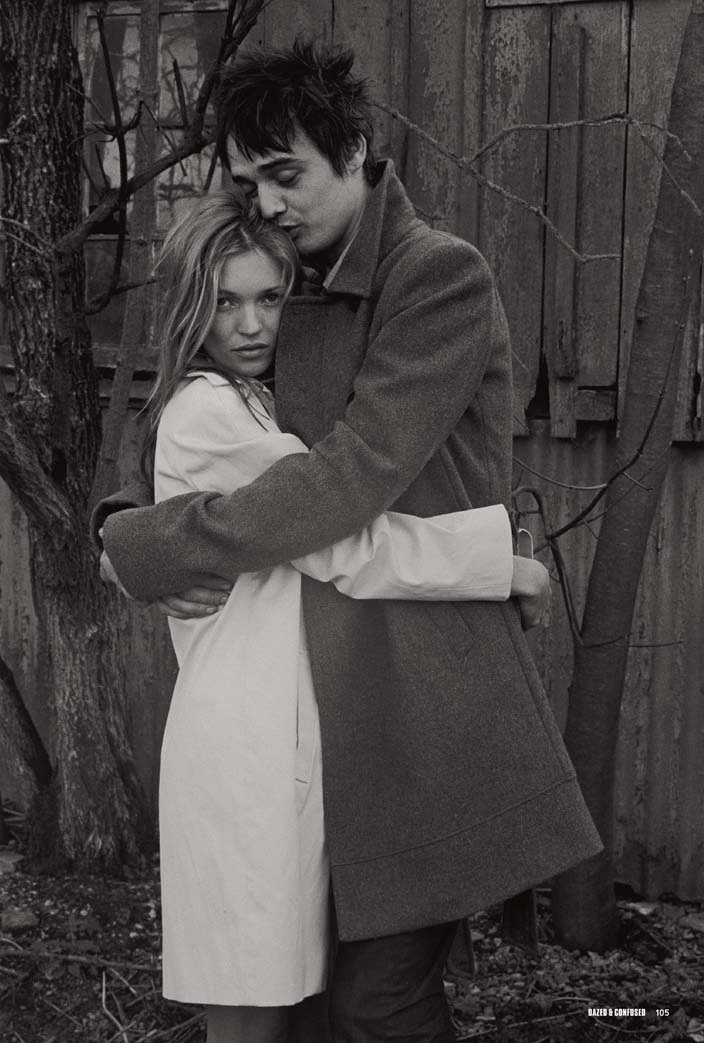 Kate Moss and Pete Doherty.