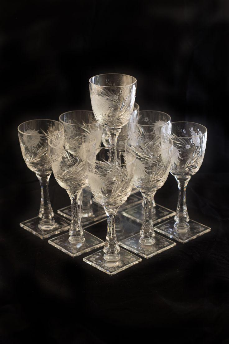 "Hawks Glass ""China Aster"""