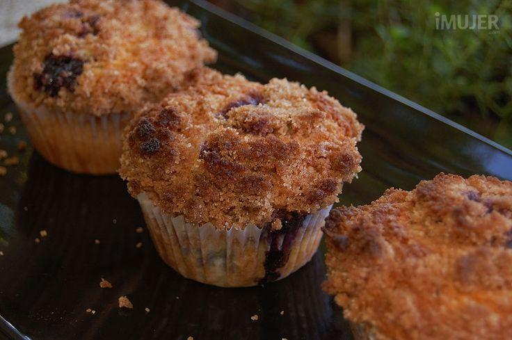 Muffins de arándanos de Starbucks