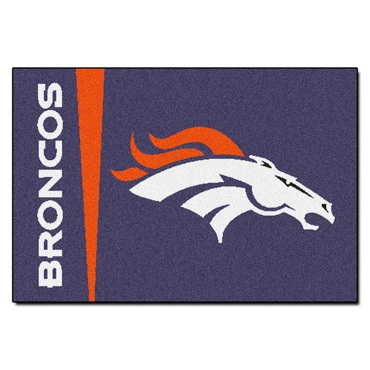 Denver Broncos Uniform Inspired Area Rug