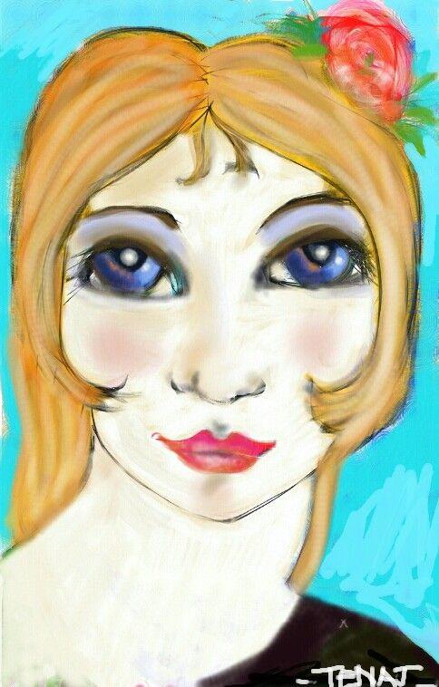 Blonde maddona
