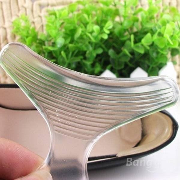 T Shape Transparent Gel Shoes Pads - NewChic