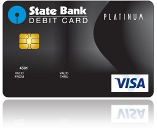 State Bank Platinum International Debit Card